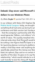 Engadget - Word Wrap Issue