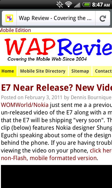 Firefox Mobile- No Text Reflow