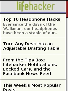Lifehacker Mobile