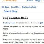 Bing Search Blog