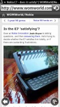 New Symbian Browser - WOMWorld/Nokia