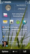 Nokia T-Mobile Astound Homescreen