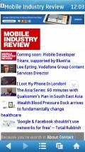 UC Browser 7.6 (Symbian) - Mobile Industry Review (Mobile View)