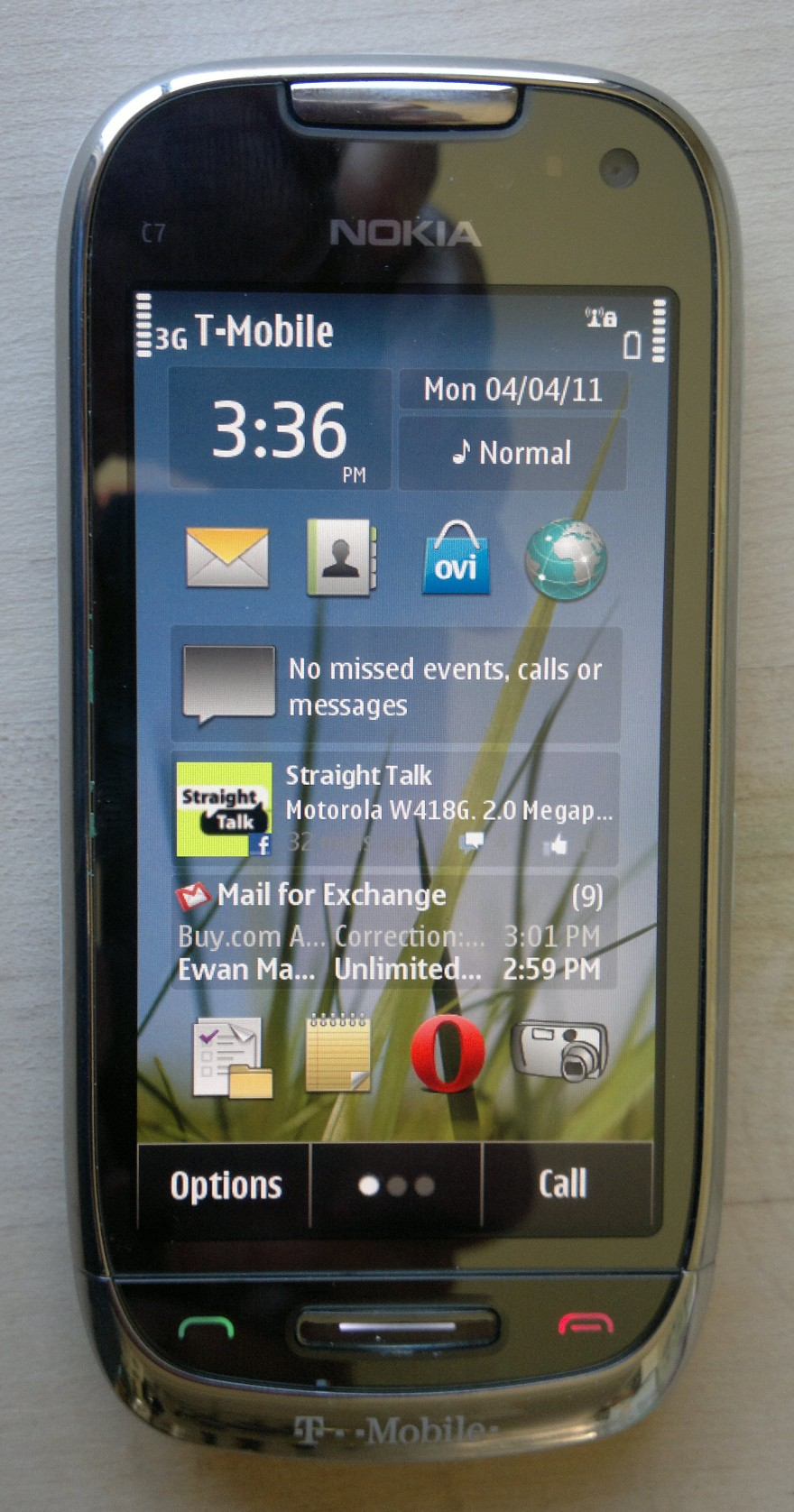 T mobile astound nokia c7 full review wap review t mobile astound front reheart Images