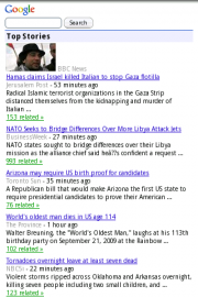 Google News Legacy View