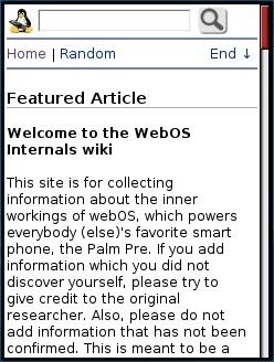 WebOS Internals