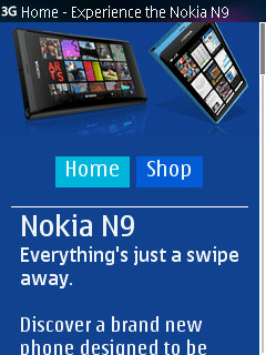 Nokia N9 - Everything's just a swipe away