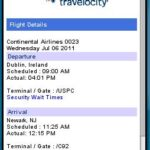 Travelocity Mobile Flight Status Fail