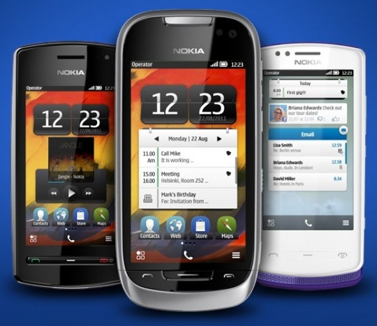 Belle Phones - Nokia 600, 701, 700