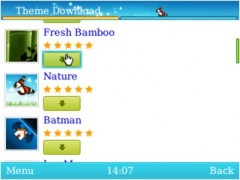UC Browser for BlackBerry Theme Downloads