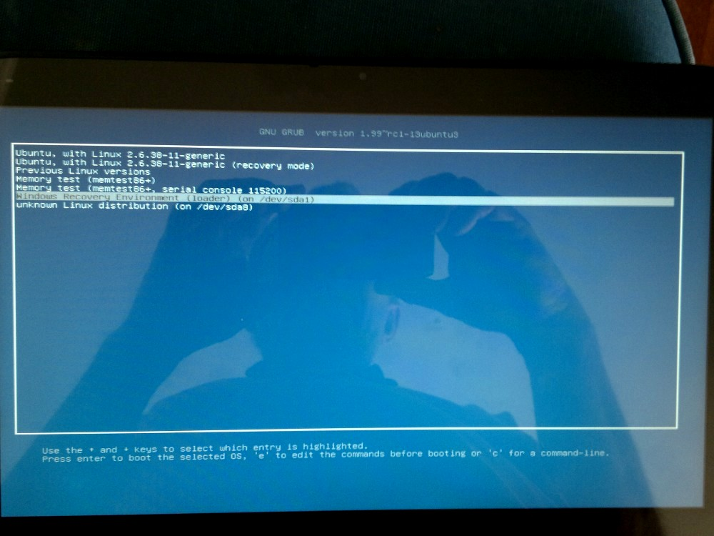 Wap Review » Blog Archive » Windows 8, Ubuntu Dual Boot On
