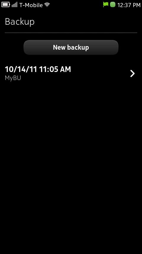 Nokia N9 Backup Utility