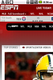 Bolt 3.0 Android ESPN