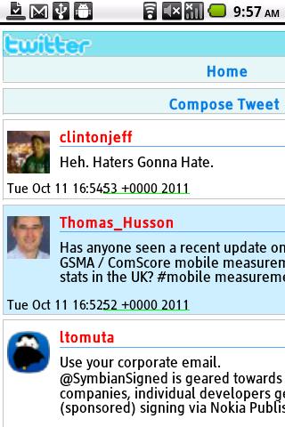 Bolt Twitter Web App