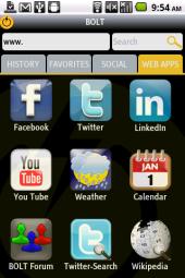 Bolt Web App Store