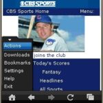 UC Browser 8.0 Java Main Menu