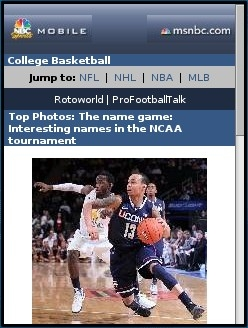 NBC Sports College Basketball