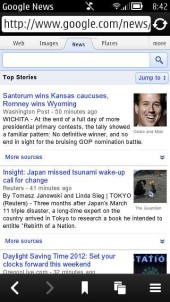 Google News Touch