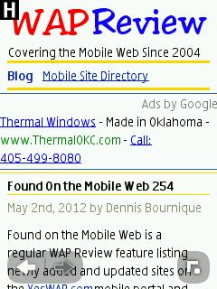 Nokia S40 Browser - WapReview