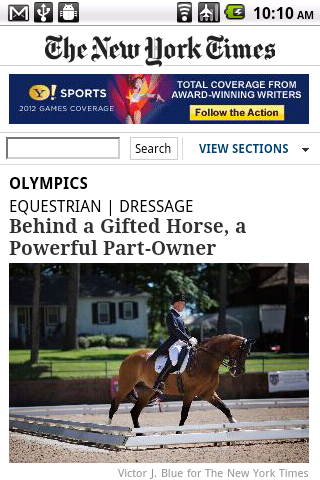 New York Times Olympics