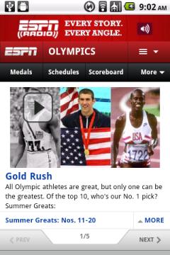 ESPN Olympics