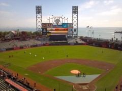 San Francisco's AT&T Park before the Game