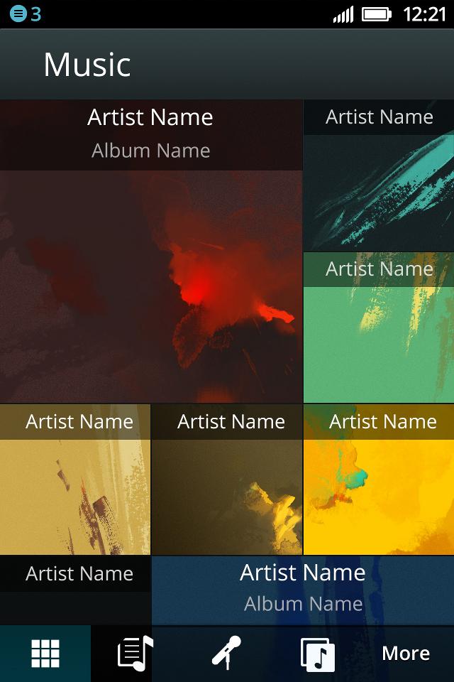 Firefox OS Music Player