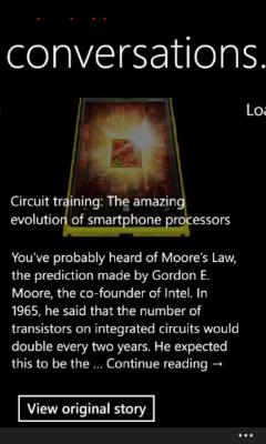 Lumia Xpress Browser - Magazine RSS Reader