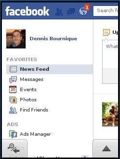 Opera Mini 7.1 Facebook