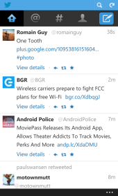 Twitter Serves its Feature Phone Version to Mobile IE10