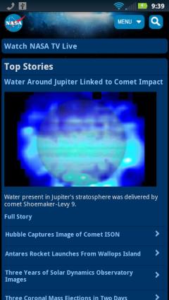 NASA - Homepage