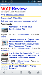 Wap Review » Blog Archive » Does UC Browser Mini For Android