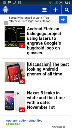 Phandroid Homepage
