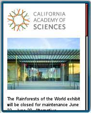 California Academy Of Sciences Mobile Site