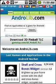 AndroLib Mobile