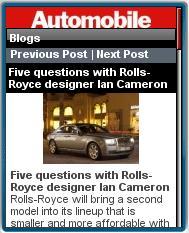 Automobile Magazine Mobile