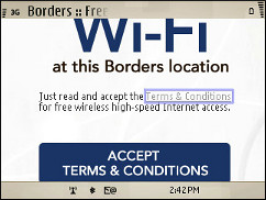 Borders - AcceptTerms