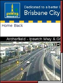 Brisbane City Council Mobile Site