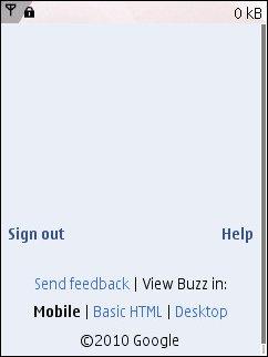 Buzz Blak Page On N95
