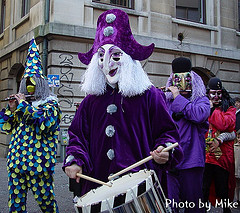 Carnival Drummers by Mike from Zurich