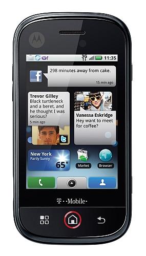 Motorola Cliq Closed