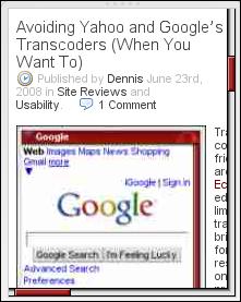 Desktop View example