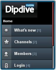 Dipdive Mobile