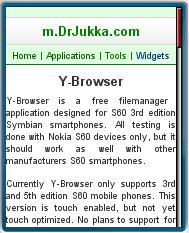 DrJulla Mobile Site