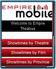 Empire       Theatres Mobile