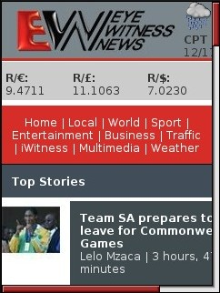 Eye Witness News