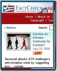 FactCheck.org Mobile