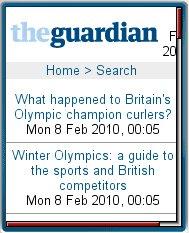 The  Guardian - Olympics 2010