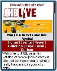 Johanesburg Live Mobile