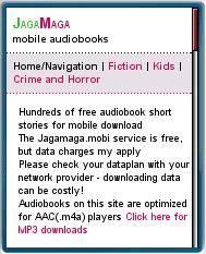 JagaMaga Mobile Audiobooks